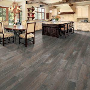 Bryson valley truffle barnwood flooring | Vic's Carpet & Flooring