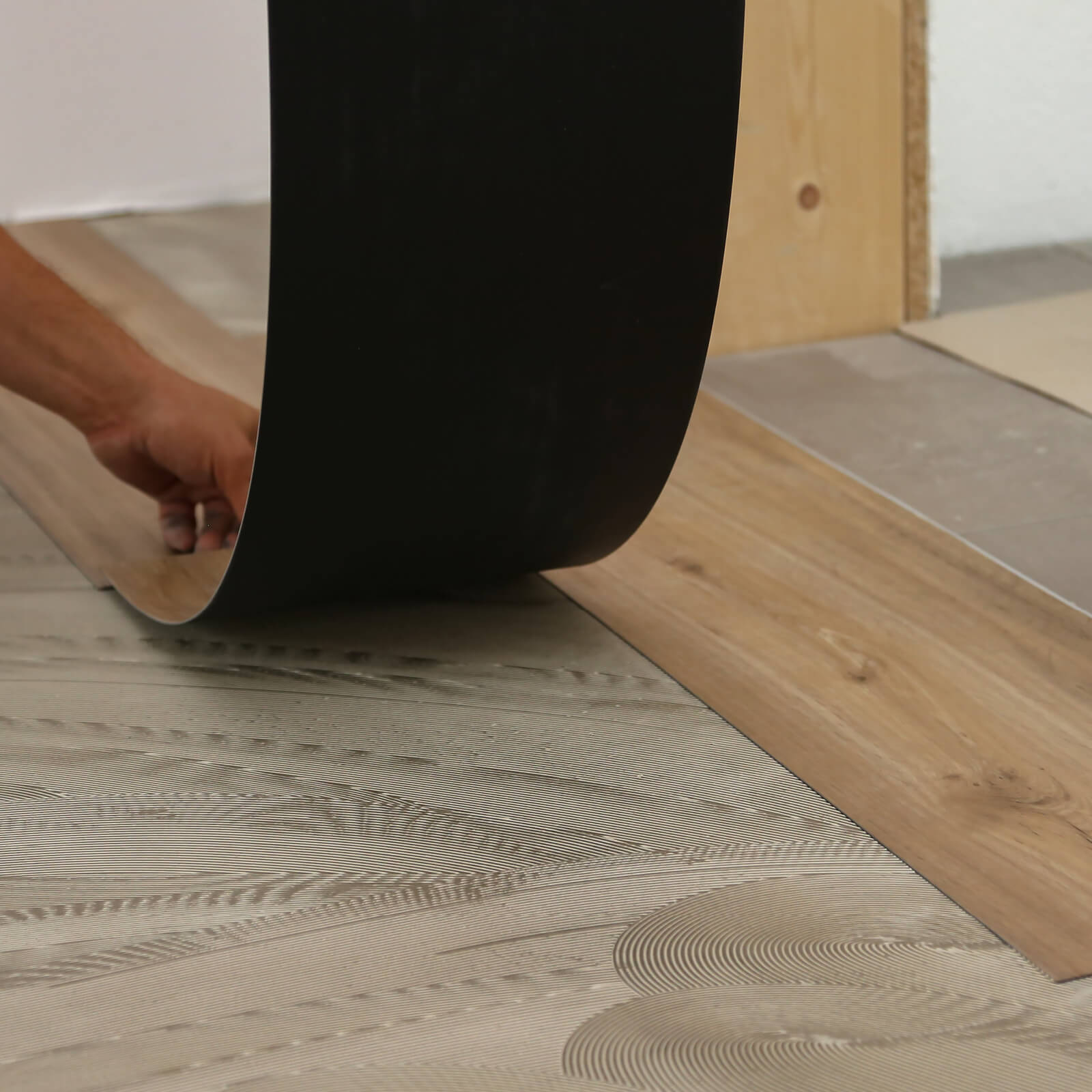 Luxury Vinyl installation | Vic's Carpet & Flooring