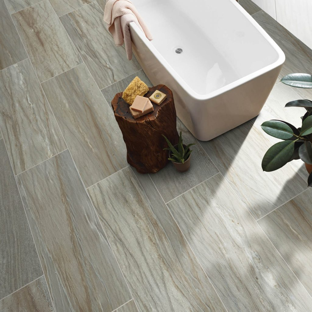 Bathroom Tile flooring | Vic's Carpet & Flooring