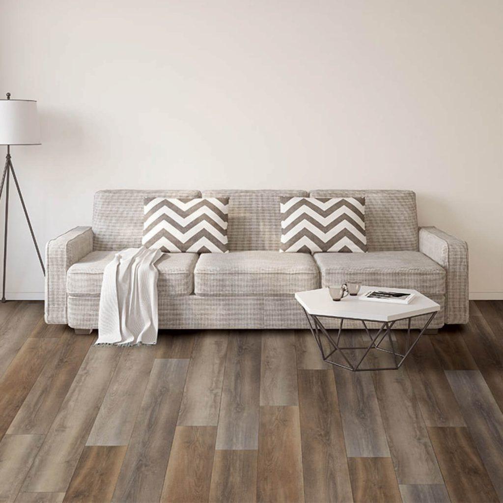 Living room Vinyl flooring | Vic's Carpet & Flooring