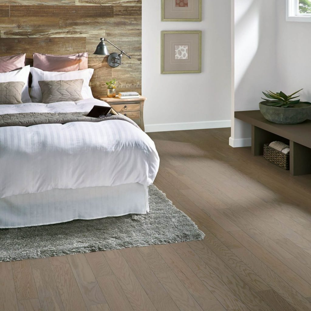 White qak engineered Hardwood | Vic's Carpet & Flooring