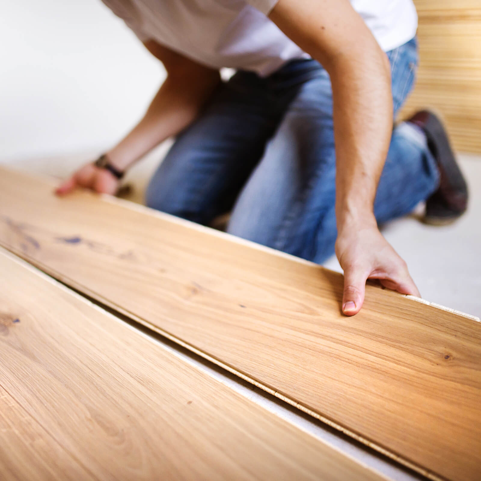 Laminate installation | Vic's Carpet & Flooring