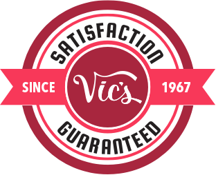 Satisfation guaranteed logo | Vic's Carpet & Flooring