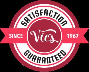 Satisfation guaranteed logo   Vic's Carpet & Flooring