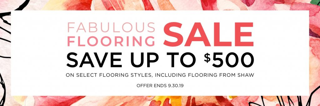 Fabulous flooring sale | Vic's Carpet & Flooring