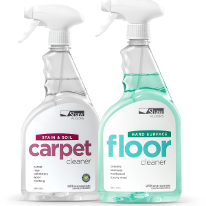 Cleaner bottles | Vic's Carpet & Flooring