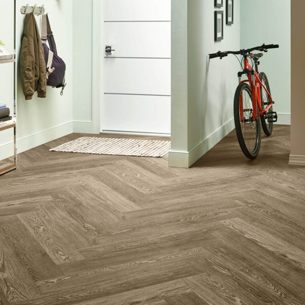 Bicycle on flooring | Vic's Carpet & Flooring
