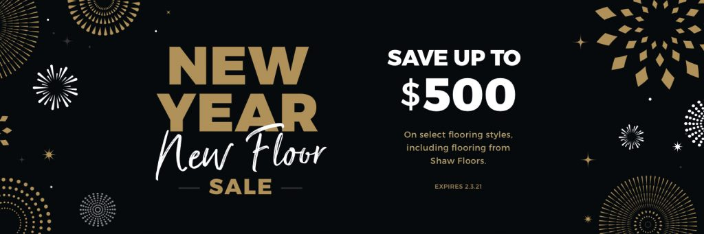 New Year New Floors Sale | Vic's Carpet & Flooring