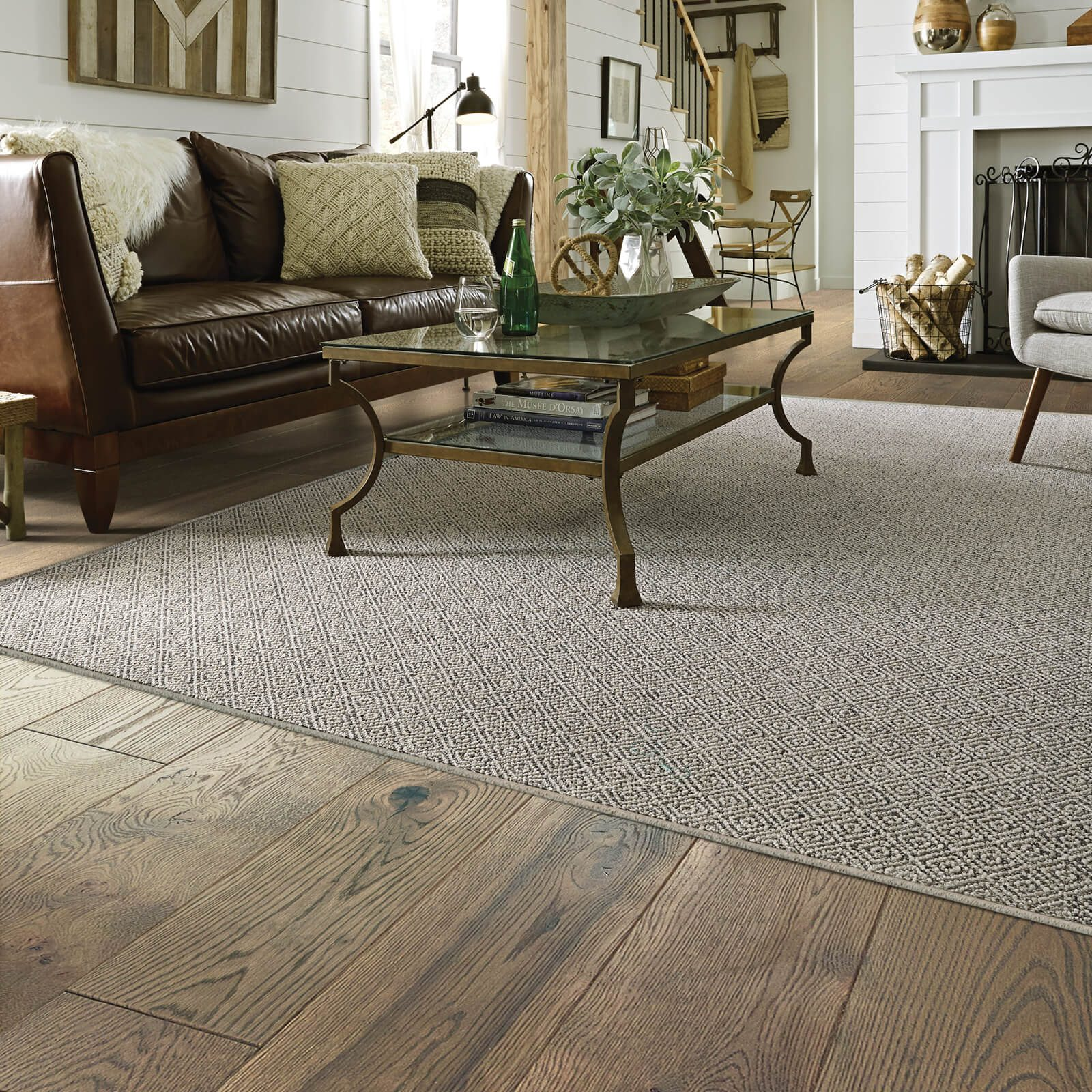 Living room Grey Carpet | Vic's Carpet & Flooring