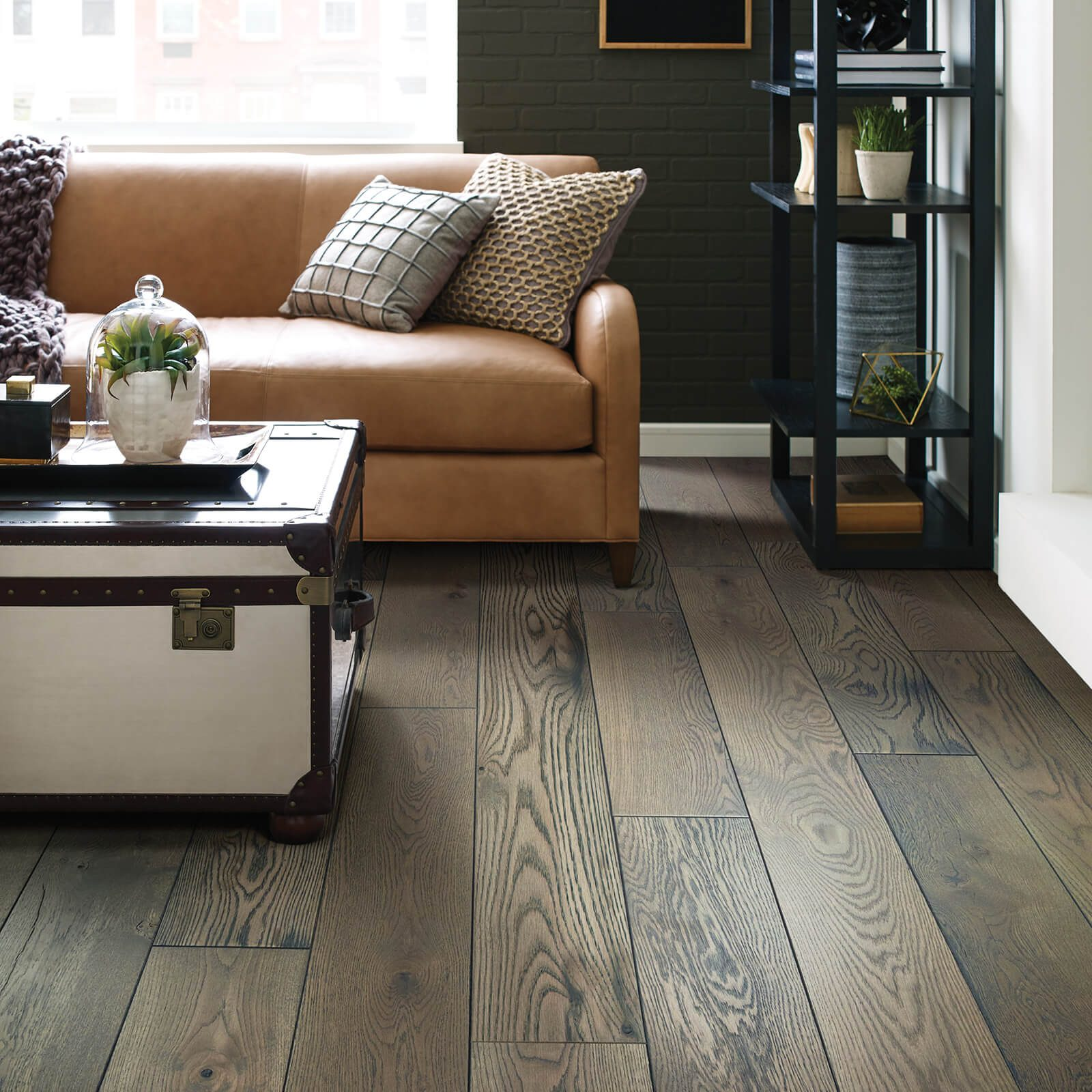 Living room Hardwood flooring | Vic's Carpet & Flooring