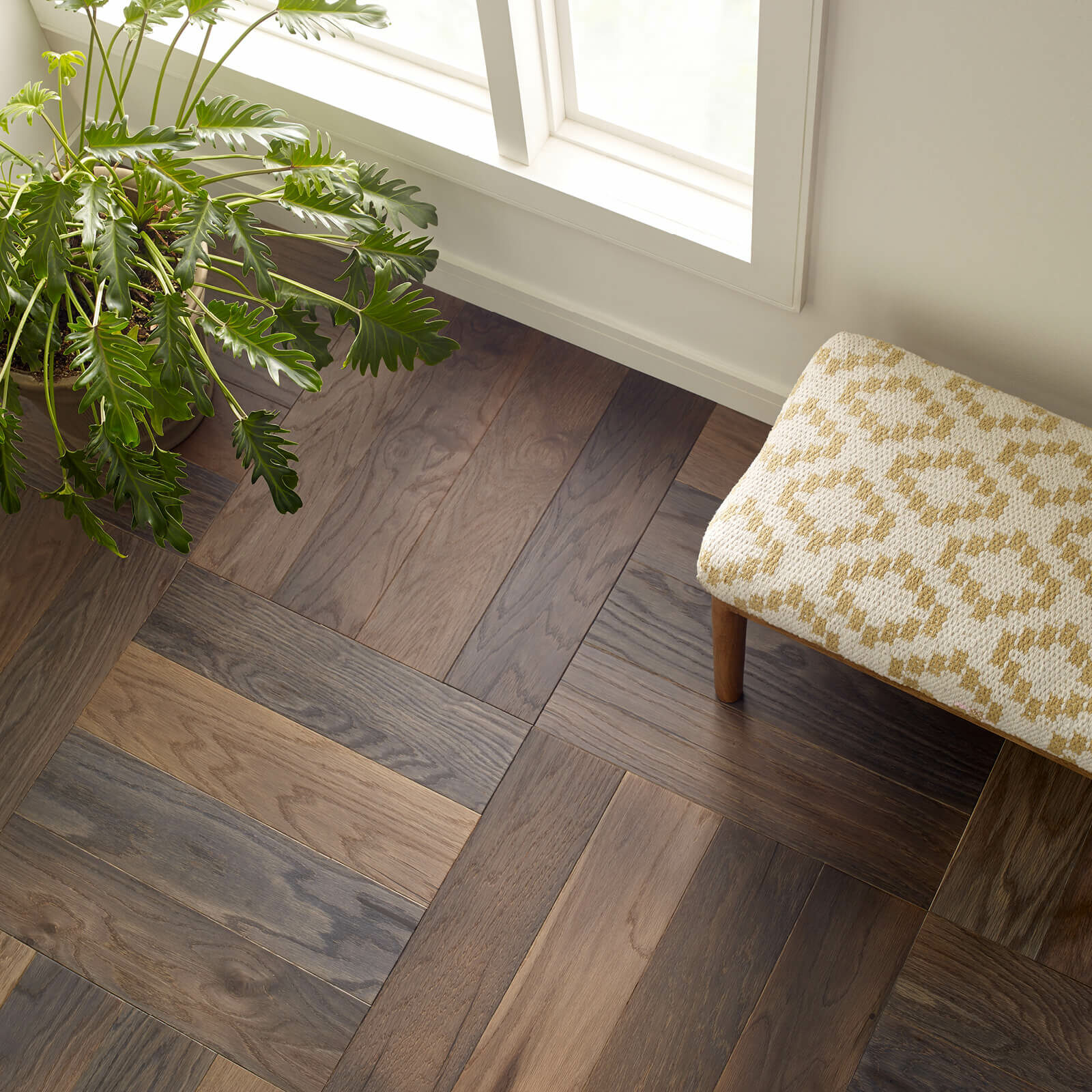 Old World Herringbone Hanover Basketweave flooring | Vic's Carpet & Flooring